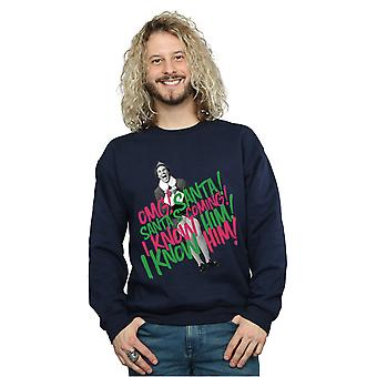 Venue Sweatshirt de Santa Elf masculine