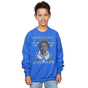 Elf Boys Christmas Fair Isle Sweatshirt