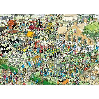 Jan van Haasteren Farm Visit Jigsaw Puzzle (1000 Pieces)