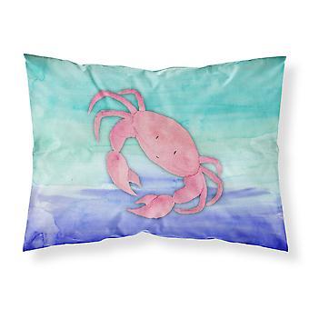 Carolineøerne skatte BB7420PILLOWCASE Krabbe akvarel stof Standard pudebetræk