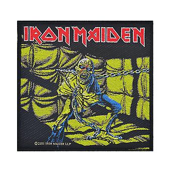 Iron Maiden Piece Of Mind Woven Patch