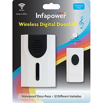 Infapower Wireless Digital Doorbell (Model No. X019)