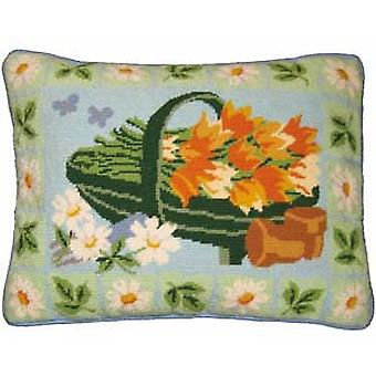 Garden Trug Needlepoint Kit