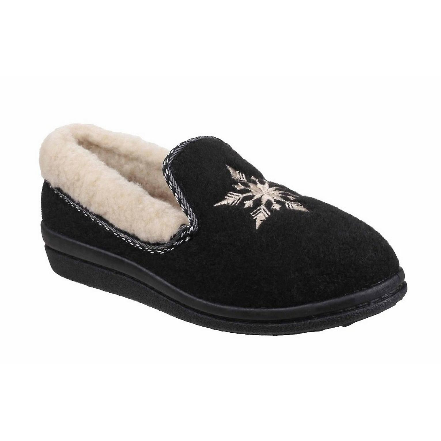 Mirak Womens/Ladies Snowflake Slippers