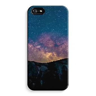 iPhone 5 / 5 s / SE Full Print Fall (glänzend) - Reisen in Raum