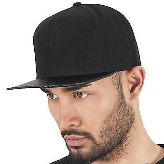 Flexfit CARBON Snapback Cap - Black