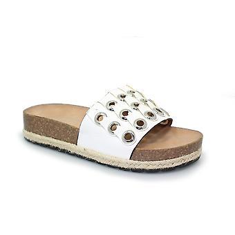 Lollyfox Freya Espadrille Mule sandale CLEARANCE