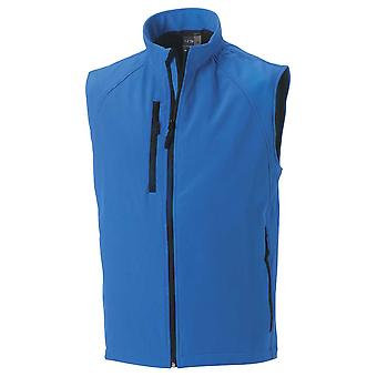 Russell Collection Mens Breathable Softshell Gilet Bodywarmer Jacket