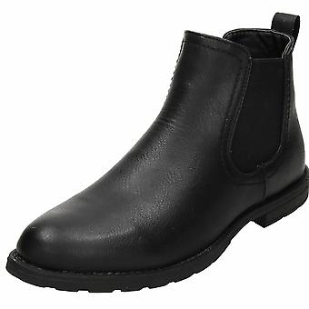 Groundwork Brown Chelsea Dealer Pull On Ankle Boots