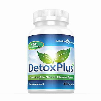 Detox Plus Complete Cleansing System - 1 Month Supply - Colon Cleanser - Evolution Slimming