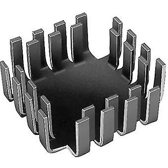 Fischer Elektronik FK 223 SA-CB Heat sink (rods) 6.8 K/W (L x W x H) 42 x 42 x 17 mm TO 3, TO 55, SOT 9, SOT 32, TO 220