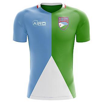 2020-2021 Djibouti Home Concept Jalkapallo paita (Kids)