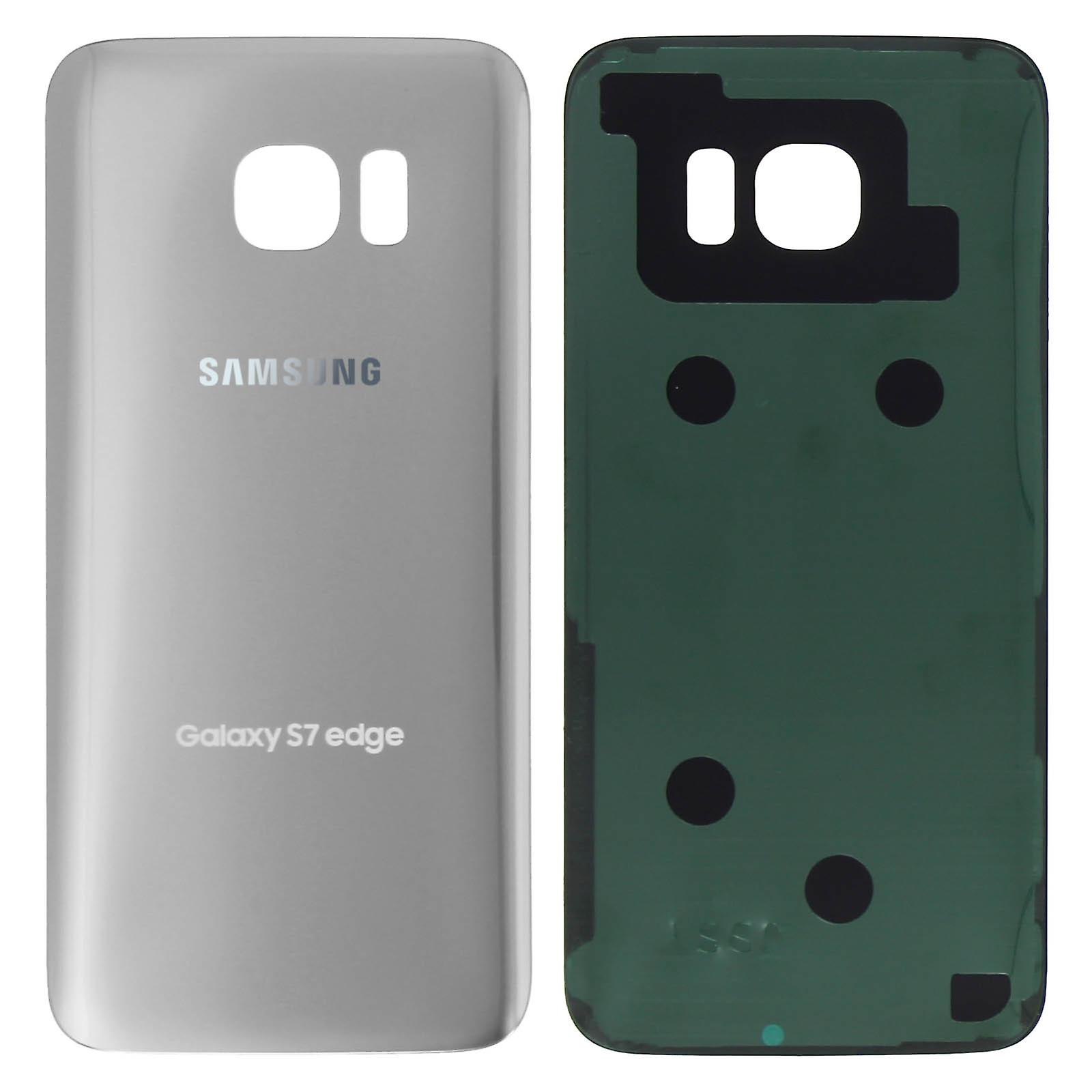 sale retailer 29f56 9c142 Housing part back cover, spare part for Samsung Galaxy S7 Edge - Silver