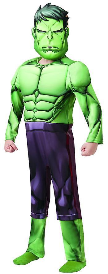 Hulk Avengers montere Deluxe MARVEL kostyme super helten barn carnival comics