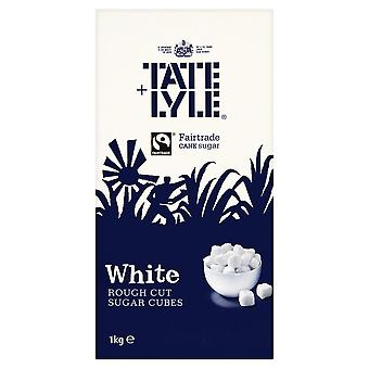 Tate & Lyle White Rough Cut Sugar Cubes