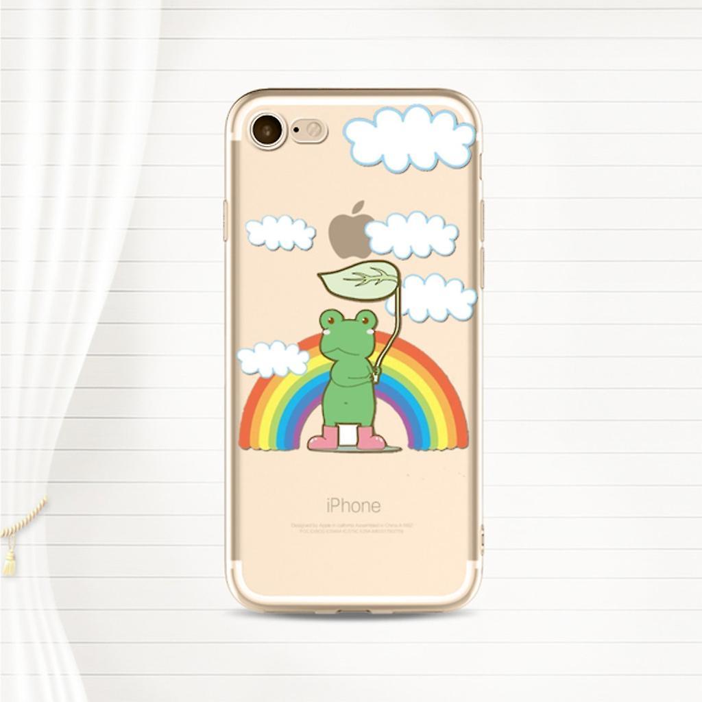 Rainbow Frog Phone case - iPhone 8