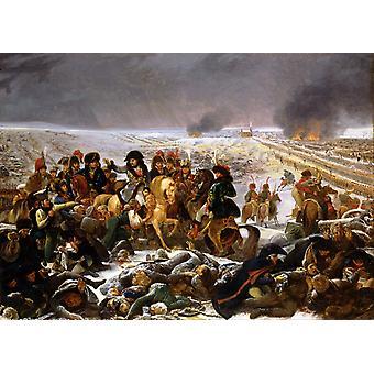 Napoleon auf dem Schlachtfeld von, Antoine-Jean Gros, 60x40cm