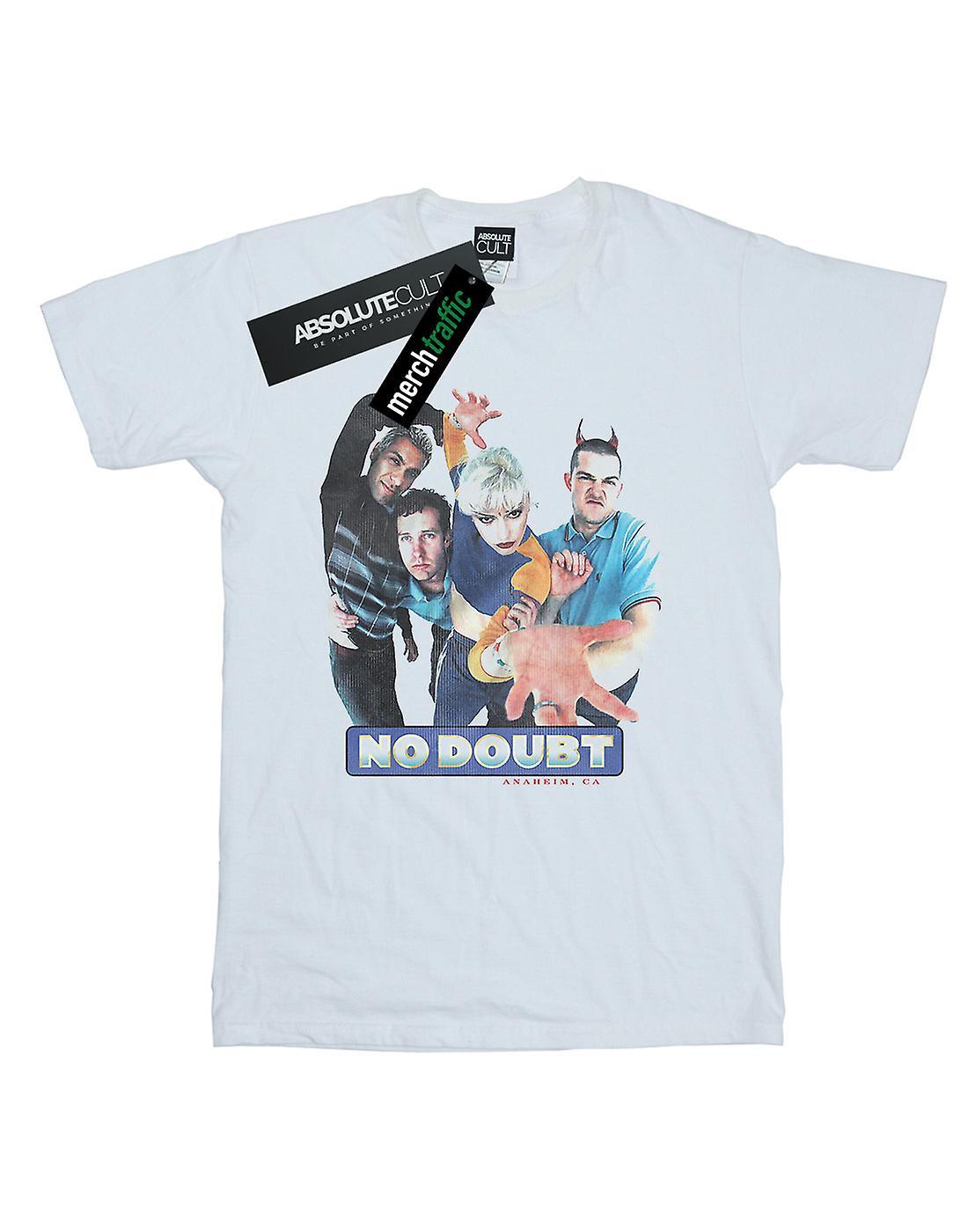 No Doubt Women's Vintage Photo Boyfriend Fit T-Shirt