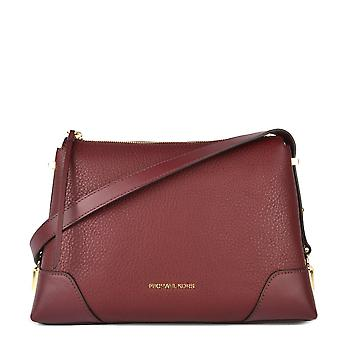 MICHAEL by Michael Kors Crosby Oxblood Leather Messenger Bag