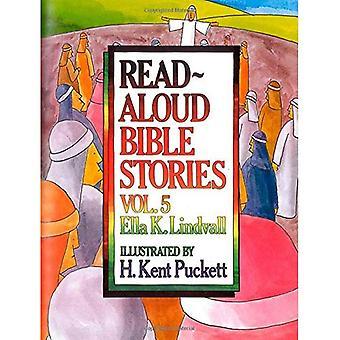 Lire à haute voix la Bible Stories Vol. 5: Les histoires de Jésus a dit à