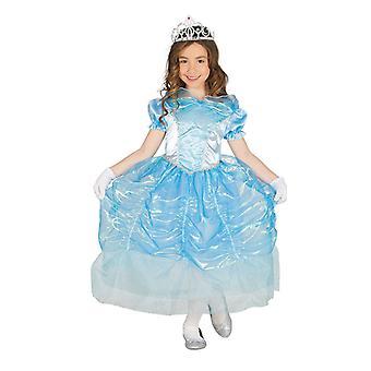 Girls Blue Swan Princess Fancy Dress Costume