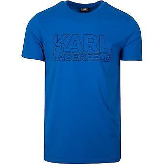 T-Shirt Lagerfeld Royal Blue Logo
