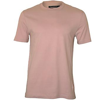 French Connection Crew-Neck T-Shirt, Dusty Peach