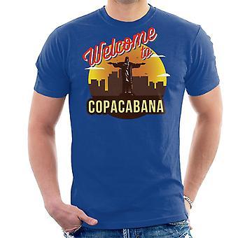 Benvenuti al Copacabana uomini di t-shirt