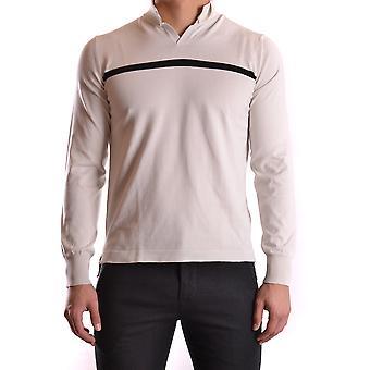 Dondup Ezbc051021 Men's White Cotton Sweater