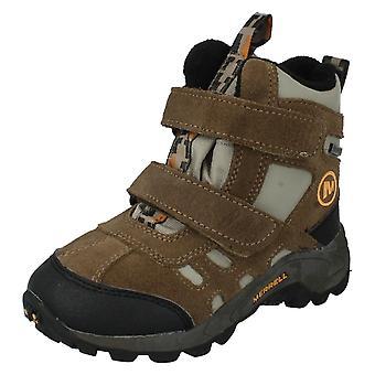 בנים Merrell במגפיים סגנון-מואב הקוטב Mid J95435