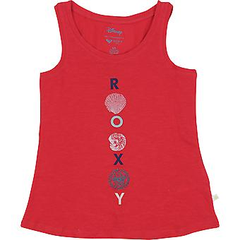 Roxy Girl x Disney Little Mermaid There is Life Tank Top - Rococco Red
