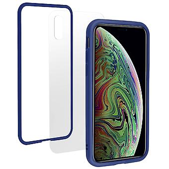 Apple iPhone XS Max Case, Changable Bumper + Rear, Blue, Rhinoshield