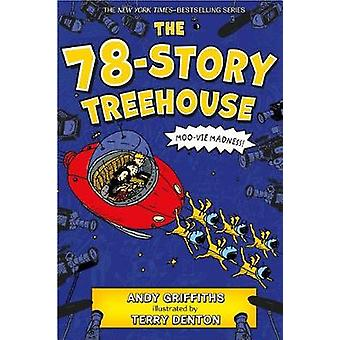 The 78-Story Treehouse by Andy Griffiths - 9781250104854 Book