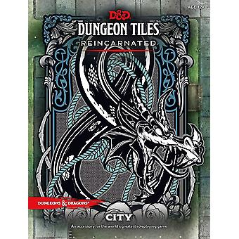 City D&D Dungeon Tiles Reincarnated Board Game