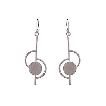 Avery and May Music Notes Dangle Drop Earrings