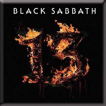 Black Sabbath Fridge Magnet 13 album band logo new Official 76mm x 76mm
