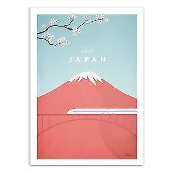 Art-Poster - Visit Japan - Henry Rivers 50 x 70 cm