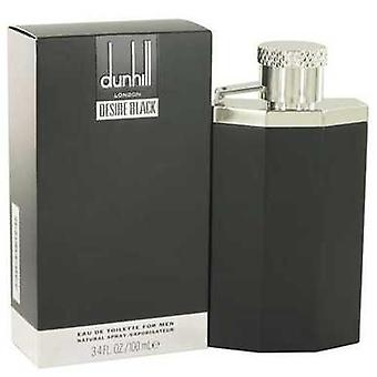 Desire Black London By Alfred Dunhill Eau De Toilette Spray 3.4 Oz (men) V728-518527