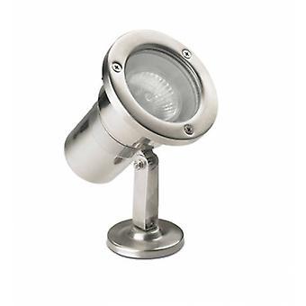 1 Light Outdoor Spotlight Edelstahl Aisi 316 Ip67