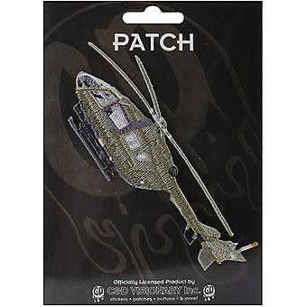 Patch - Automoblies - Army Chopper Iron On Gifts New Licensed p-4191