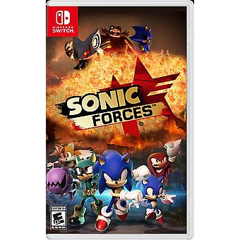 Sonic Forces Nintendo Switch Game