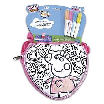 Cife Sequeen Bag Spring Heart Pepa Pig