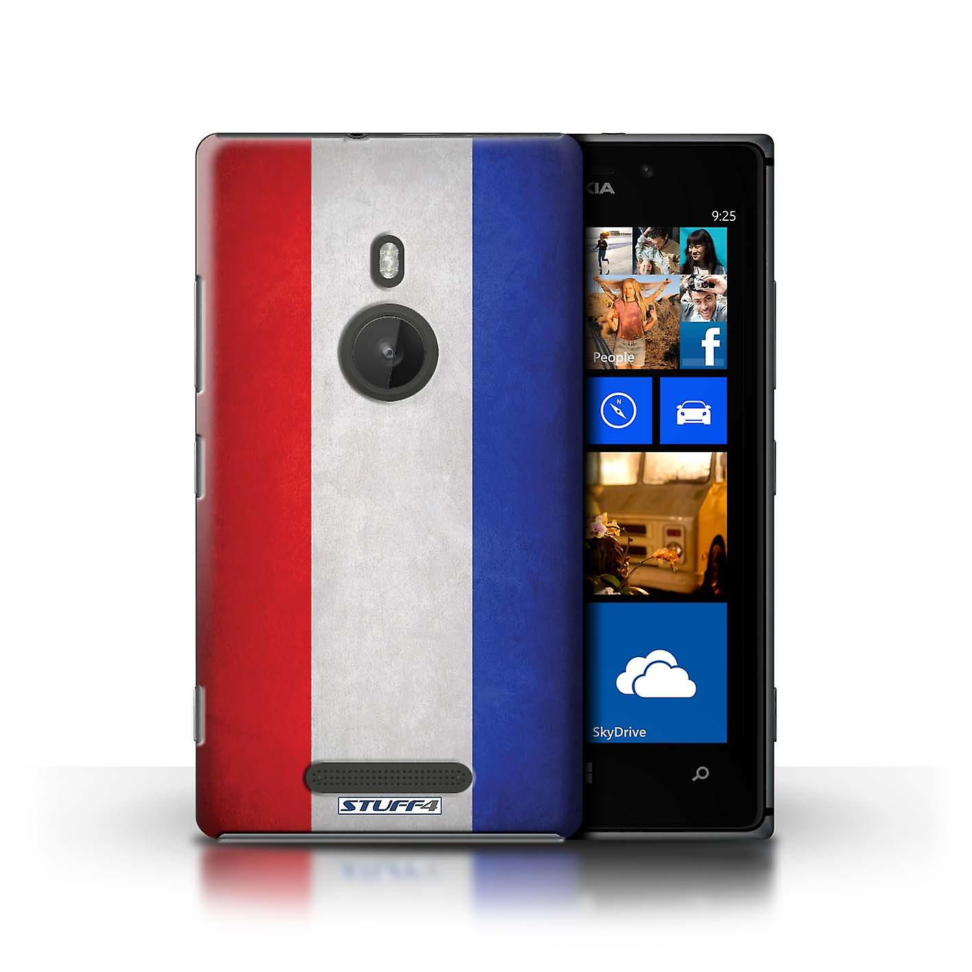 STUFF4 Case/Cover for Nokia Lumia 925/Netherlands/Flags
