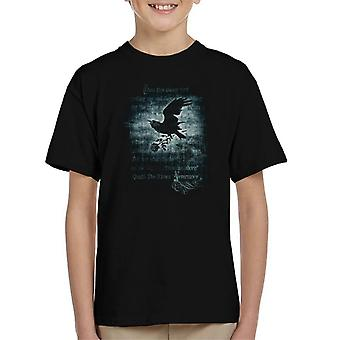 Alchemy Nevermore Kid's T-Shirt