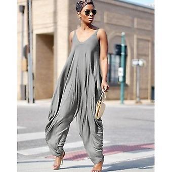 Oversized Baggy jumpsuit strappy Streetwear