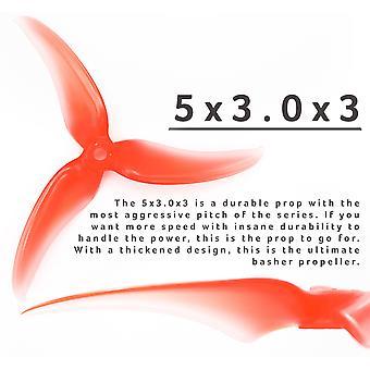 EMAX Avan Scimitar 5x3.0x3 5030-3 Śmigło 2CW+2CCW Czerwony