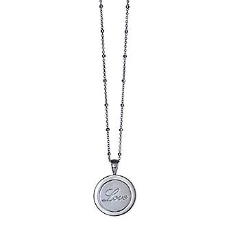 Babette Wasserman ? Zilver Sterling Twisting Love Forever Ketting van 46 cm - zilver - kleur: zilver - kabeljauw. NS424SI