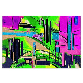Deco Panel, abstract Landscape