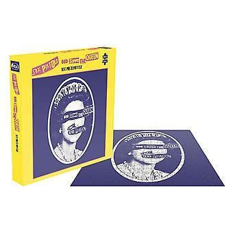 Sex Pistols Jigsaw God Save The Queen Album Couverture nouvelle pièce officielle 500