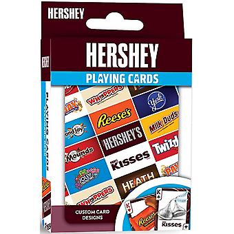 Hershey ensemble de 52 cartes à jouer - jokers (mpc)